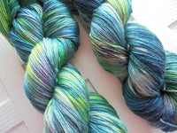 VAN GOGH Splashed and Speckled Handdyed So Silky Sock-Weight Yarn