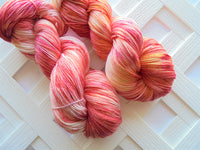 ARIZONA SUNRISE Splashed and Speckled on So Silky Sock