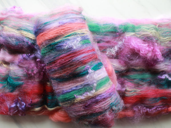 DESERT IN BLOOM Luxury Art Batts for Spinning and Felting