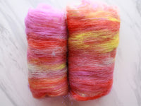DRAGON FRUIT Art Batts to Spin and Felt