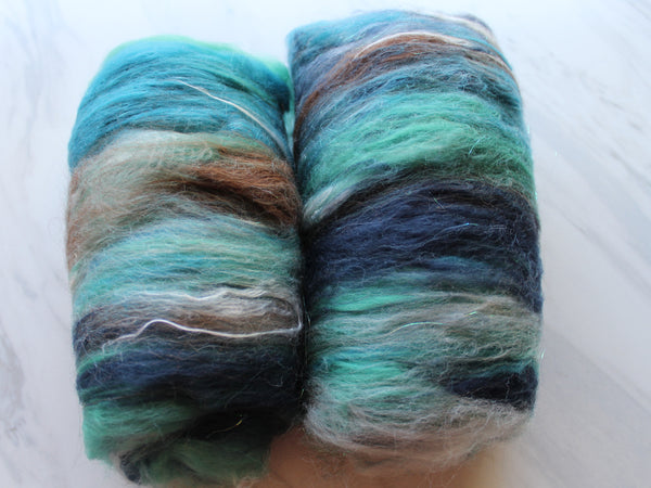 EARTH, SEA, AND SKY Spinning Fiber Batts