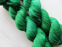 FOREST GREEN on Sock Perfection Yarn