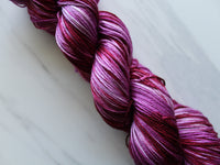 RESERVED FOR MARLA - FUCHSIA on So Silky Sock