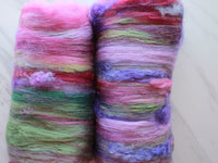 HIGHLAND HEATHER Art Batts to Spin and Felt