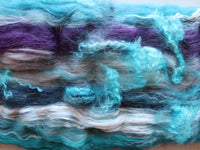 OCEAN AT NIGHT Art Batts to Spin or Felt