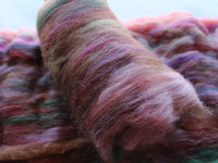 MONET'S GARDEN Art Batts to Spin and Felt