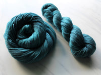 ANNUNCIATION BLUE on So Silky Sock