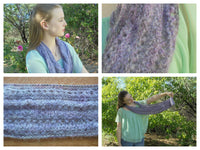 KNIT AND CHAT INFINITY SCARF KIT - Pink!
