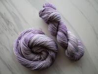 LILAC on Sparkly Merino Sock