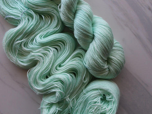 MINT JULEP on So Silky Sock