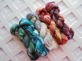 MOBY-DICK Handdyed Yarn on Sock Perfection Superwash/Nylon Sock Yarn