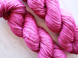 NO SHRINKING VIOLET on Sparkly Merino Sock