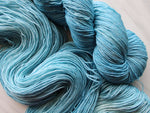 NORTH WIND on Sparkly Merino Sock Yarn