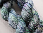 NOVEMBER IN MY SOUL on Sparkly Merino Sock Yarn