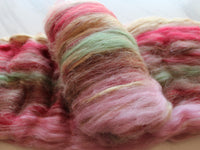 PEACH BLOSSOM Luxury Spinning Batts