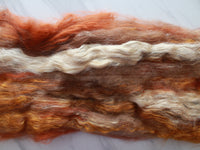 PUMPKIN SPICE LATTE Art Batts to Spin or Felt