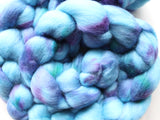RHAPSODY IN BLUE Hand-Dyed 21 Micron Merino Top
