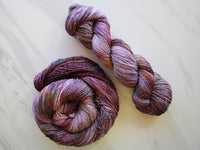 SMITTEN on Sparkly Merino Sock Yarn