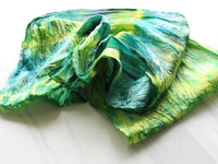 VAN GOGH'S STARRY NIGHT Silk Infinity Scarf