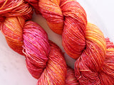 WILD ROSE on Sparkly Merino Sock