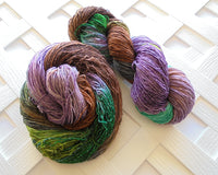 LOTHLORIEN Sparkly Indie-Dyed Sock-Weight Yarn Inspired by The Lord of the Rings