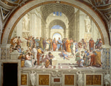 SCHOOL OF ATHENS Art Batts to Spin and Felt