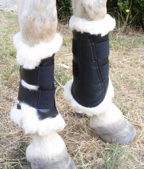 Front Boots with Lambs Wool