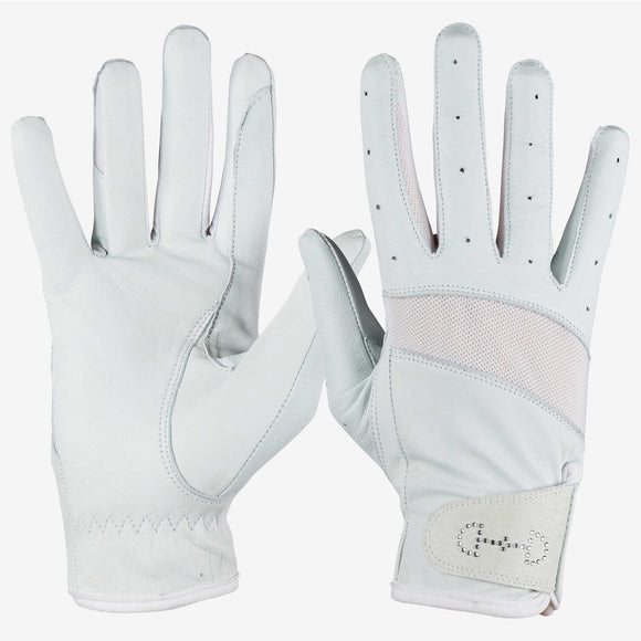 Leather Mesh Gloves - Wanneroo Stockfeeders