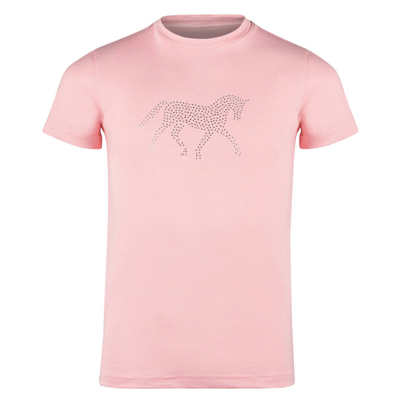 Kids Diamonte Horse Shirt - Wanneroo Stockfeeders