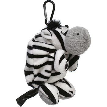 Poo-Kins Bag Dispenser - Zebra - Wanneroo Stockfeeders