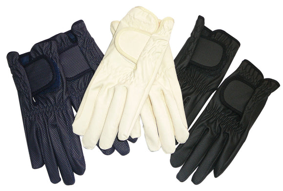 Soft Grip Gloves - Navy - Wanneroo Stockfeeders