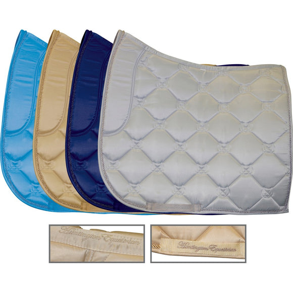 Satin Dressage Saddle Pad