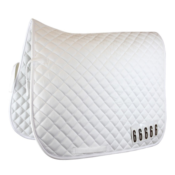 Comp Number Saddle Pad - Wanneroo Stockfeeders