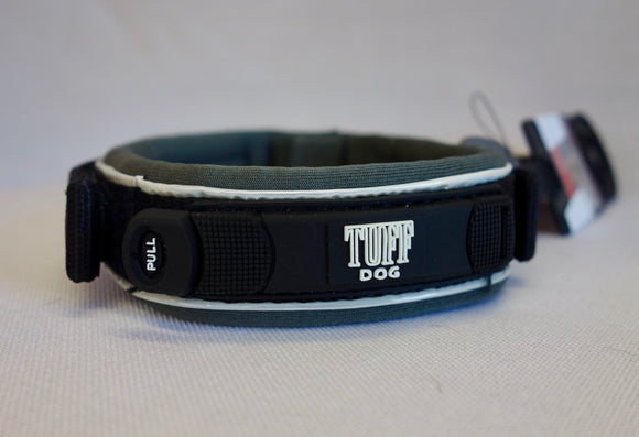 Black Tuff Dog Trek Collar - Wanneroo Stockfeeders