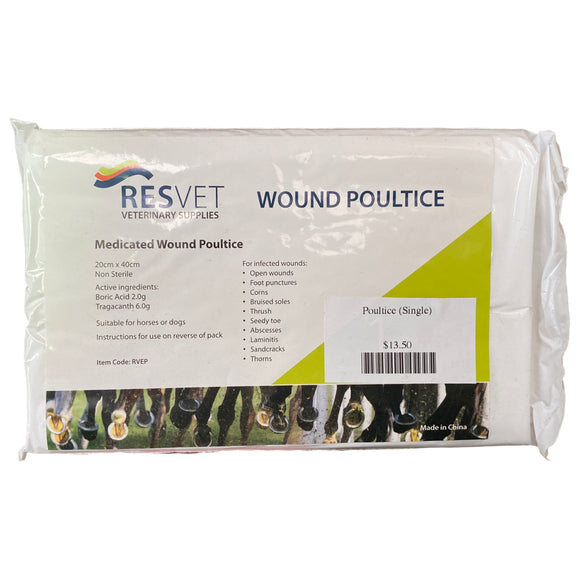 Poultice (Single) - Wanneroo Stockfeeders