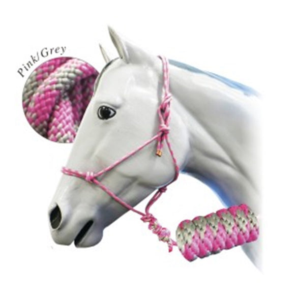 Rope Halter w/ 10' Lead