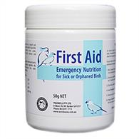 First Aid - Emergency Nutrition for Birds 50g - Wanneroo Stockfeeders