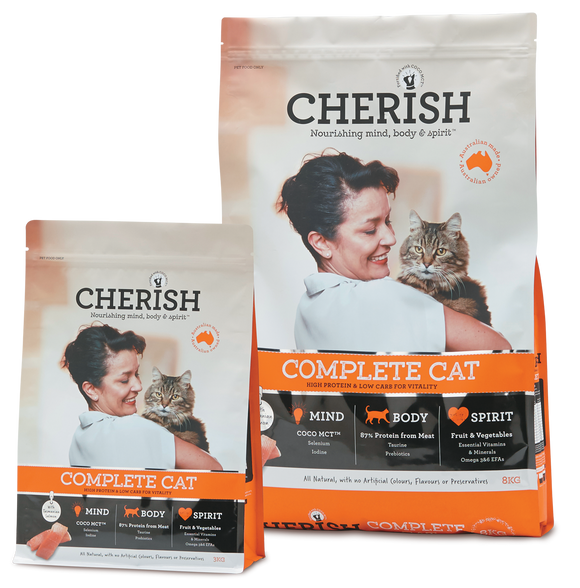 Cherish Complete Cat - Wanneroo Stockfeeders