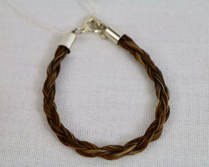 Plaited Bracelet - Brown - Wanneroo Stockfeeders