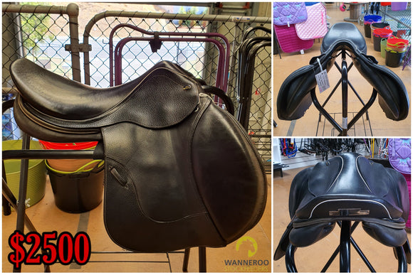 John Whitaker Monaco Close Contact Saddle - Wanneroo Stockfeeders