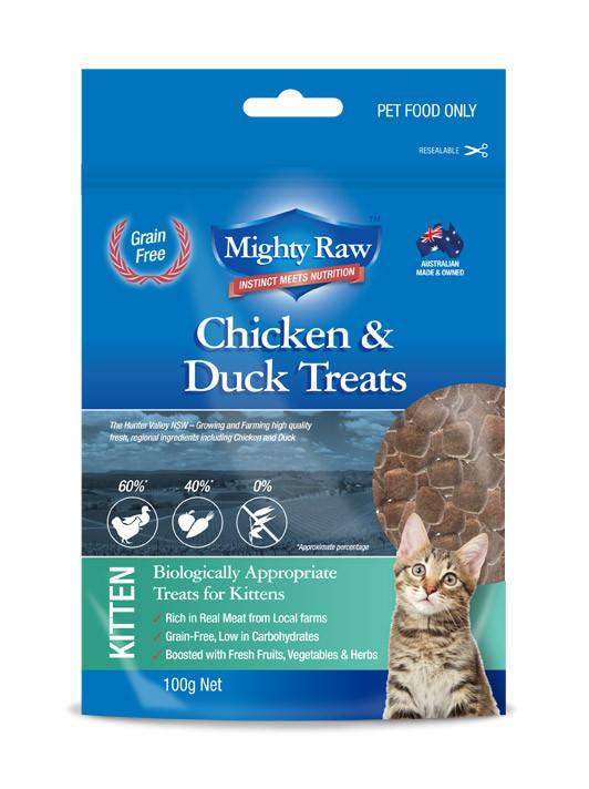 Kitten Treat Chicken & Duck