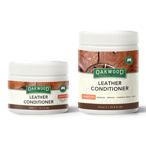 Oakwood Leather Conditioner - Wanneroo Stockfeeders