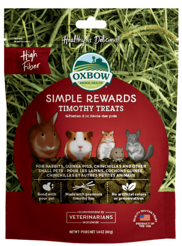 Oxbow Simple Rewards - Timothy - Wanneroo Stockfeeders