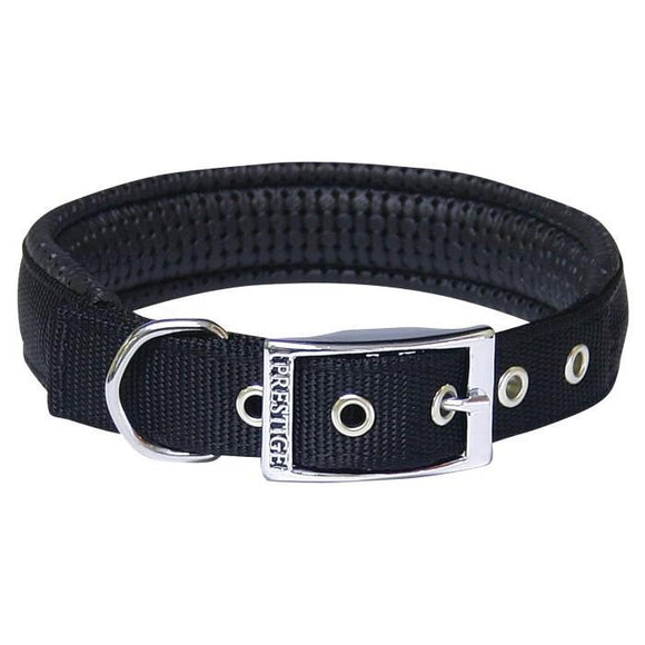 Padded Dog Collar - Black - Wanneroo Stockfeeders
