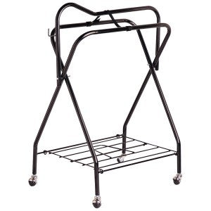 Premium Saddle Stand with Wheels