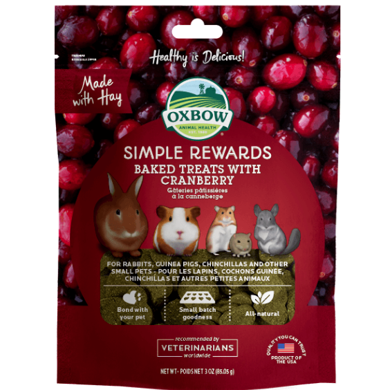 Oxbow Simple Rewards - Cranberry - Wanneroo Stockfeeders