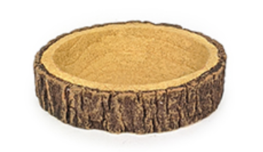 Small Animal Stump Bowl - Wanneroo Stockfeeders