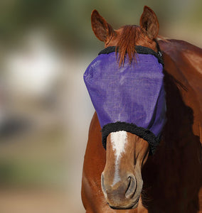 Pony Fly Veil With Fur - Wanneroo Stockfeeders