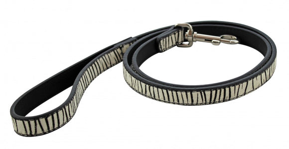 Zebra Print Dog Lead - Wanneroo Stockfeeders
