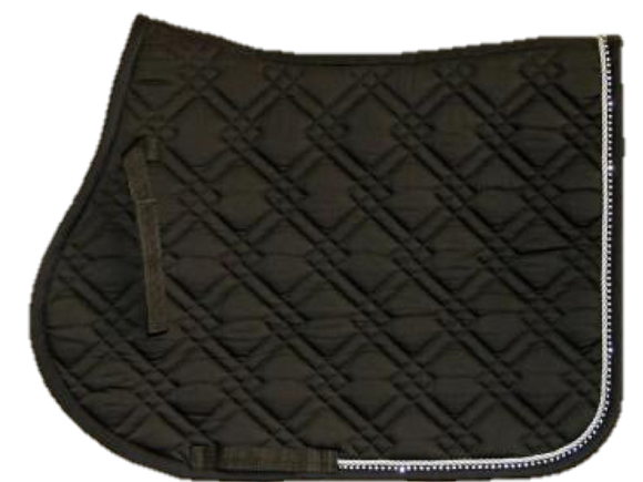 Dressage Saddle Pad Diamonte - Wanneroo Stockfeeders